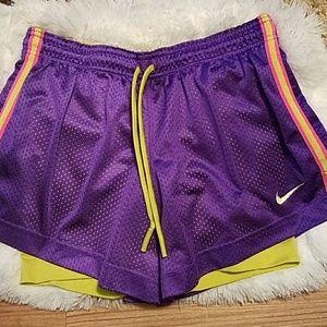 NIKE Dri-Fit Girl's Shorts, Size Small